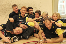 Hanse Squash ' 79, Saison 2010/2011, 2. Bundesliga, Team 1